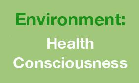 Environment health consciousness