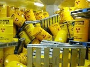 Nuclear waste storage barrels