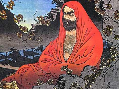 Risultati immagini per Bodhidharma