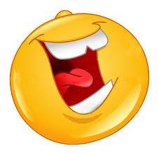 laughing tongue teeth