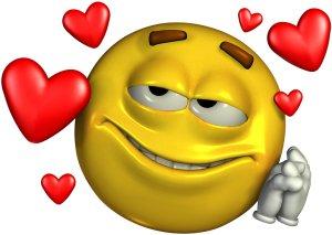 loving gaga smile