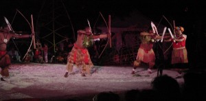 The dreaming arrow dancers