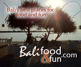 Bali food and fun square