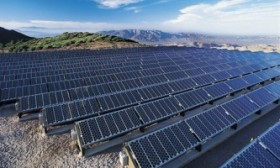 Solar farm in Libya
